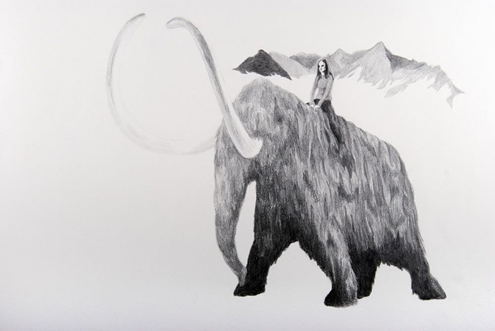 Jessica Harby Banished (Patricia Hearst on a Mammoth)
