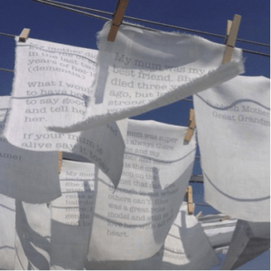 Tracey Kershaw Washing Line 2015
