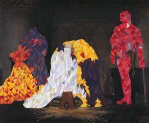 Andrew Bracey, Reconfigure Painting (Paul Delaroche)