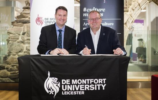 Memorandum of Understanding links ACE with De Montfort University