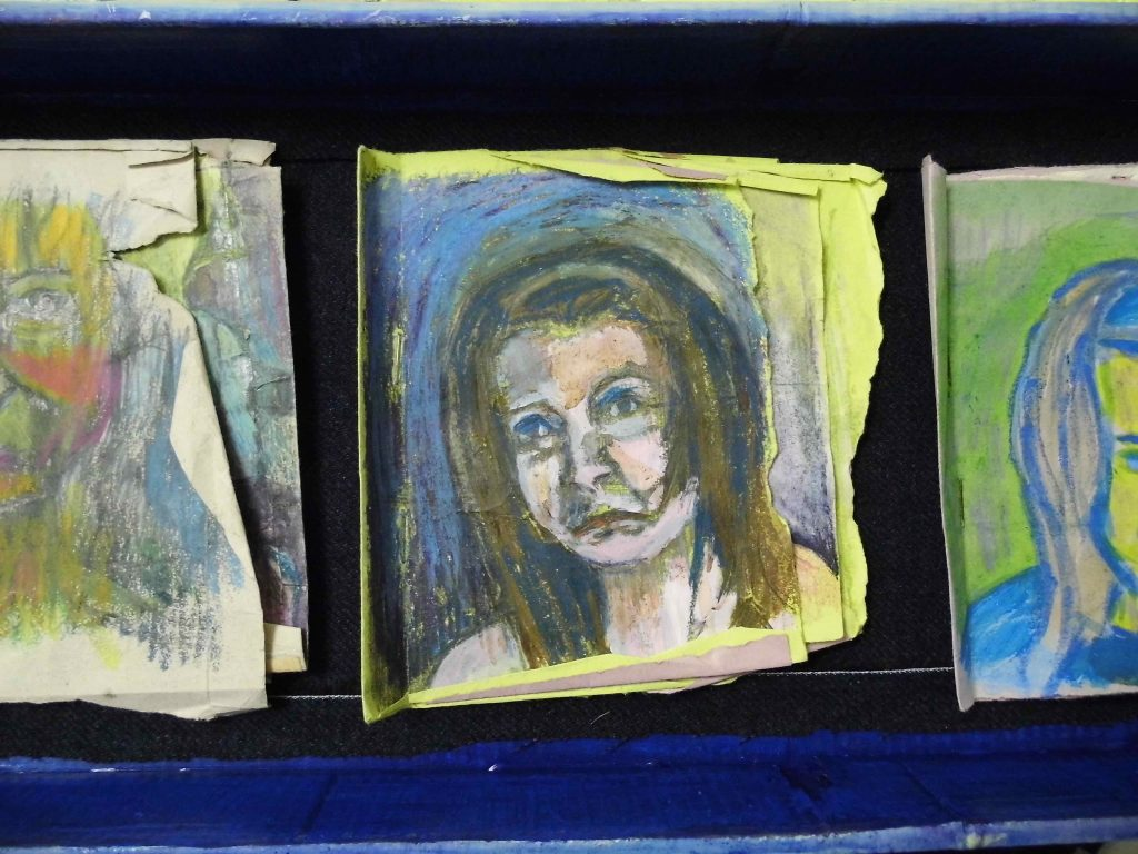 Self portrait artist books