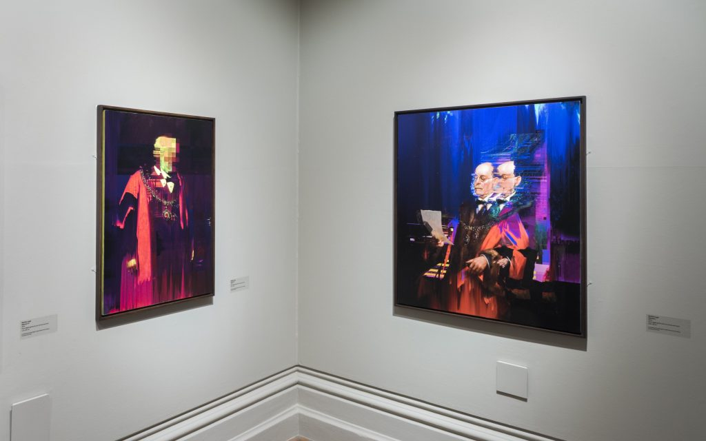 Matthieu Leger, Alderman Series I,II,III, IV. Photographed by John Hartley | Nottingham Castle Museum & Art Gallery