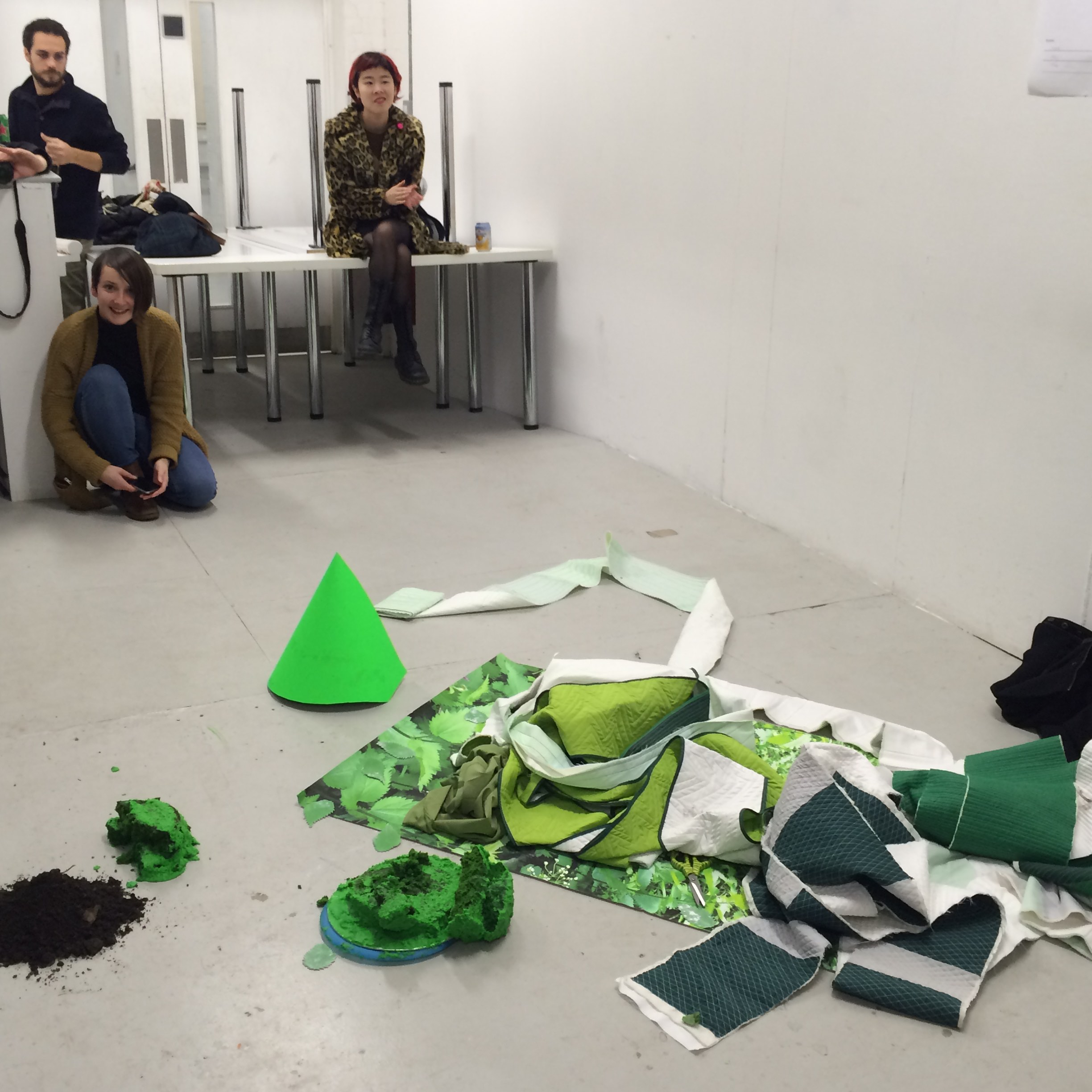 Laura McCafferty, Live Performance, The Emergence of Character (2015) Goldsmiths University