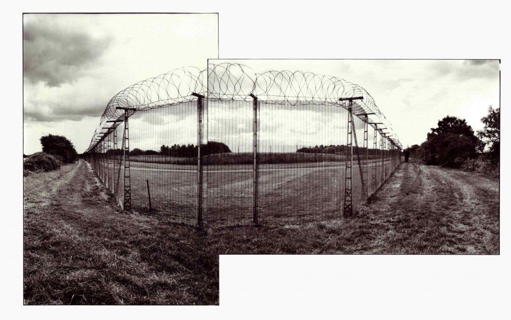 Michael Sanders, Fence and Bridleway RAF Molesworth 2013