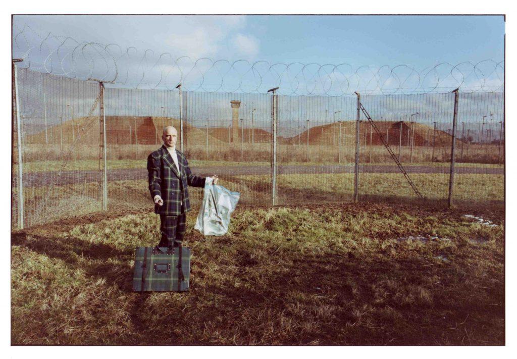Michael Sanders, RAF Molesworth 30th Anniversary and tartan suit